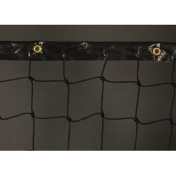 bande PVC 110mm noire avec oeillets