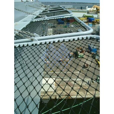 Filet anti-chutes maille losange 50mm