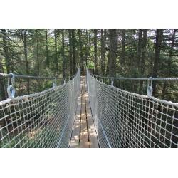 Pont suspendu 50mm - parc Aoubré (83)