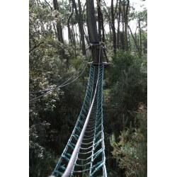 Filet à marcher 250mm vert - parc Kanopé Oléron (17)