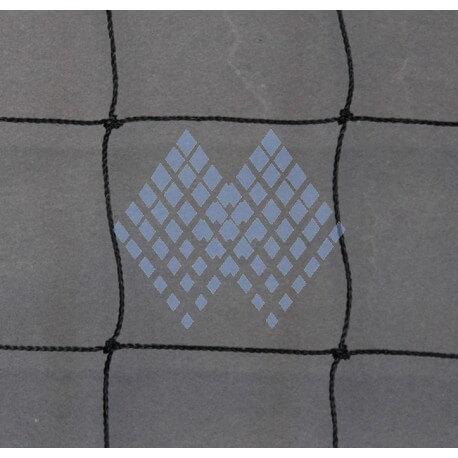 Filet de protection fil 1 mm maille 50 mm noir