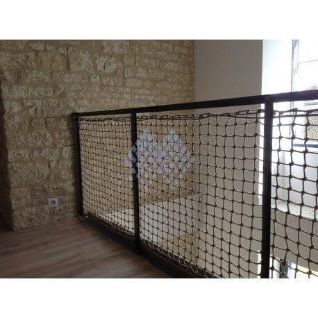 filet de protection garde corps corde chanvre vente en ligne. Black Bedroom Furniture Sets. Home Design Ideas