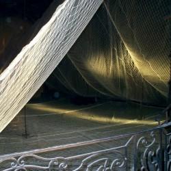 Filet anti-chutes maille 100mm doublé