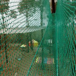 Pont suspendu 50mm vert - parc Aoubré (83)