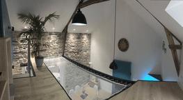 Filet trampoline d'intérieur
