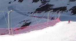 Montagne - balisage - sécurité pistes de ski